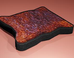 Burnt Toast 3D model