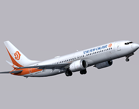 3D model Boeing 737 MAX-8 Okay Airways