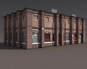 Old Factory Low Poly 127 3D model