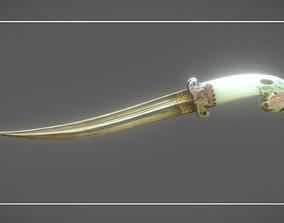 3D model Peacekeeper Dagger