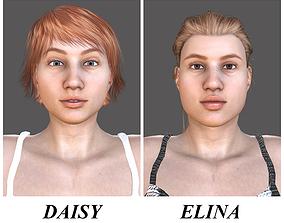 3D model DAISY-ELINA