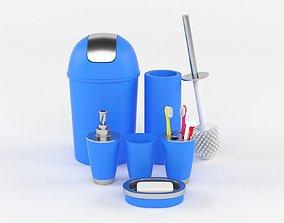 bin 3D model Bathroom Accessories
