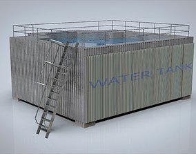 3D model other Water tank