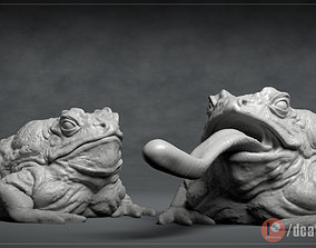 Giant Toad - 3D printable creature 3D print