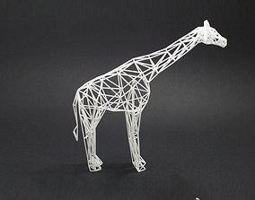 3D print model Digital Safari- Giraffe