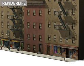 Tenement Block 3 3D