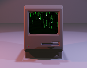 Macintosh Cell Fracture 3D model