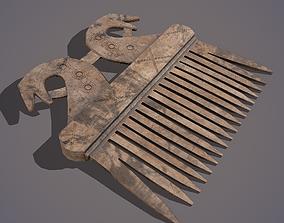 Viking Dragon Comb 3D model