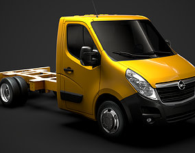 3D Opel Movano SingleCab DW E20 Chassis 2014