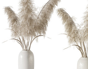 3D Pampas grass bouquet