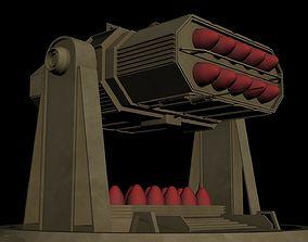 3D model SAM Roket launcher-1