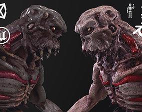 Monster Flesh 3D model