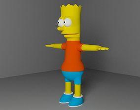 3D model Bart Simson