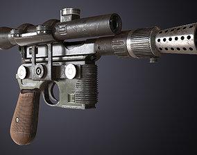 DL-44 Blaster 3D model