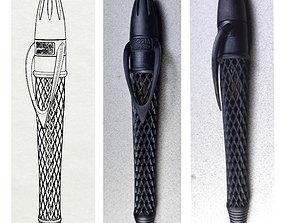 Pen with Twist Mechanism 3D print model
