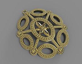 oval pendant for 3D printer