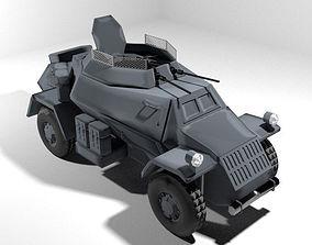Armoured Car - Leichter Panzerspahwagen 3D