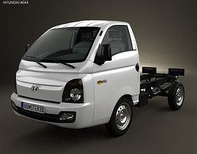 3D model Hyundai HR Porter Chassis Truck 2013