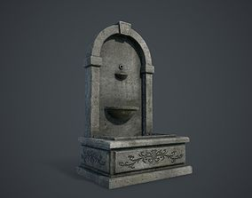 3D asset game-ready Fountain