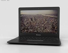 Hisense Chromebook Black 3D