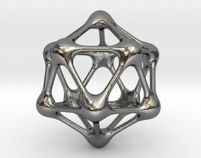 Metaball Pendant 3D printable model