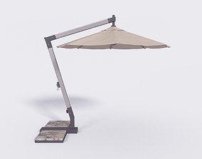 Outdoor Umbrella - Parasol 4 3D model
