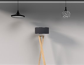 FREE- Pack of lamps for interior 3D