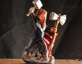 THOR ENDGAME - FAT LITTLE GOD OF 3D printable model 1