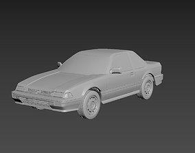 Honda Prelude 1987 Body For Print 3D printable model