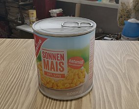 Corn can of cheap German brand 3D