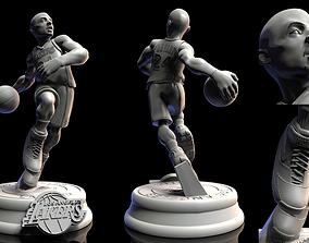 3D print model Kobe Bryant Lakers