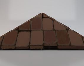 Brick Roof 3D asset