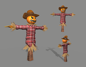 3D model realtime Scarecrow
