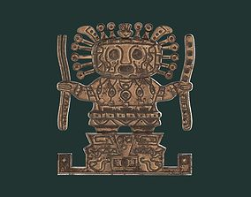 3D print model Viracocha Ancient Inca God