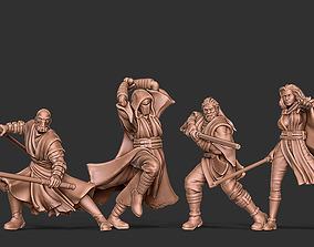 3D printable model The Force Bundle - 5 sith jedi 2