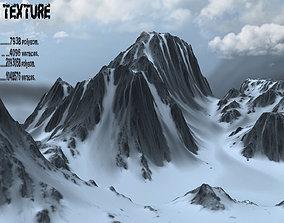 3D Snow Mountain details