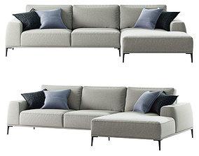 sofa Fargo 306 3D model