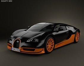 3D model Bugatti Veyron Grand-Sport World-Record-Edition