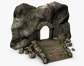 3D model Ancient entrance