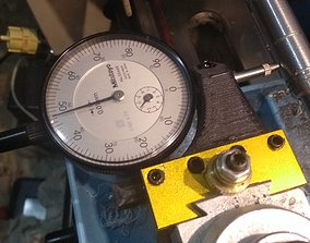 Dial indicator holder mini lathe 3D printable model