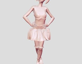 3D print model Skirt young girl