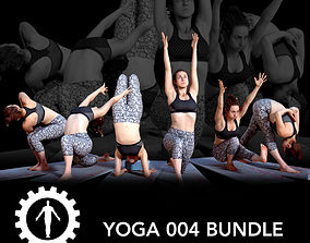 3D Yoga 004 Bundle