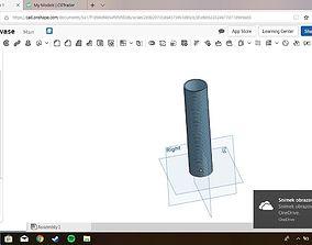 3D print model Spiral modern vase