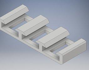 SATA Comb 3D printable model