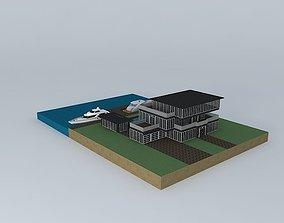 3D model Nice Modern House