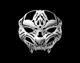 Tiger Face 3D printable model