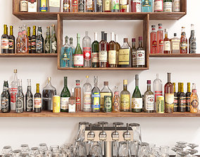 Alcohol Set 5 3D model