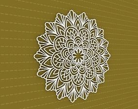 flower meditation 3D Mandala