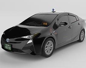 3D model Prius2016 Japanese Tokyokotsu Taxi