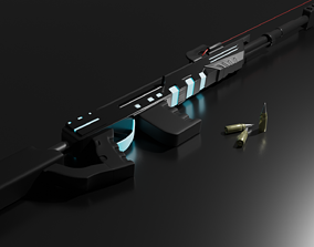Rifle of the future 3D